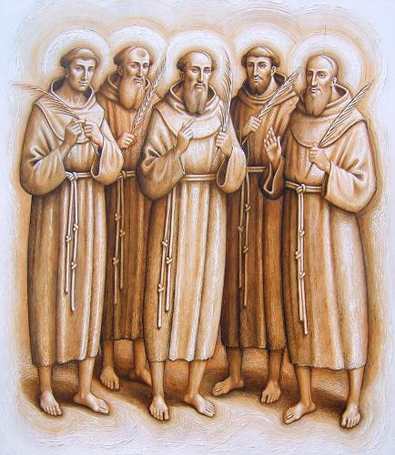 santos Berardo y compañeros